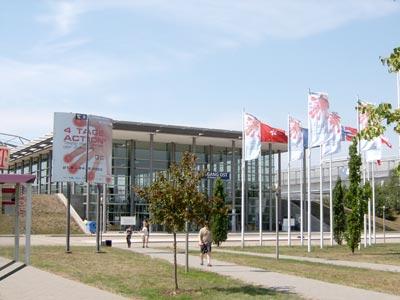 Leipzig   Messehalle leipzig (c) r4z0rMANIA  / pixelio.de