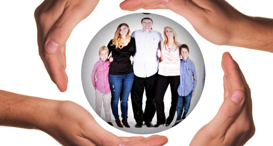 Beim Familienrecht geht es um alle Generationen (c) geralt / pixabay.de