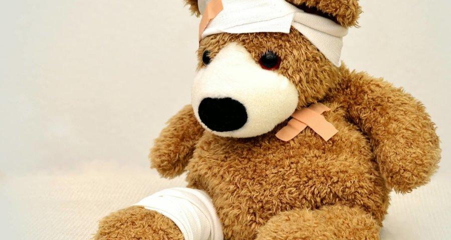 auch Bären sind manchmal krank (c) condesign / pixabay.de