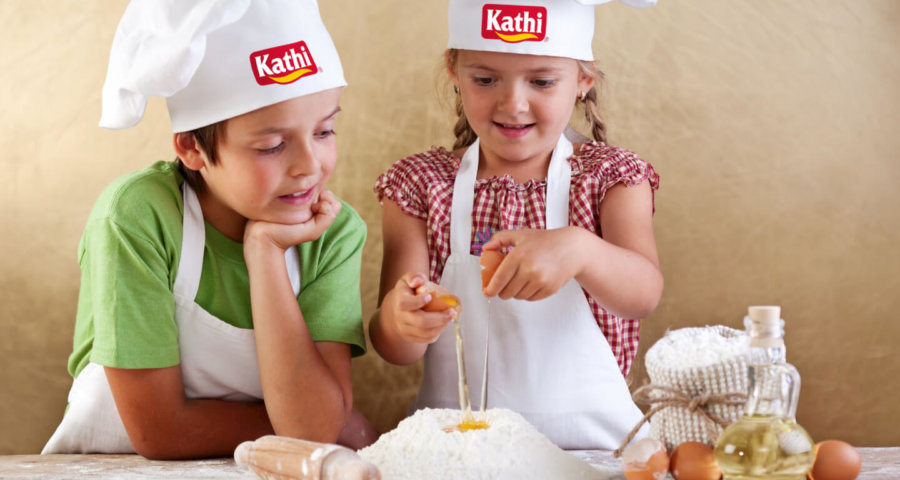 Kinder in der Küche (c) Kathi